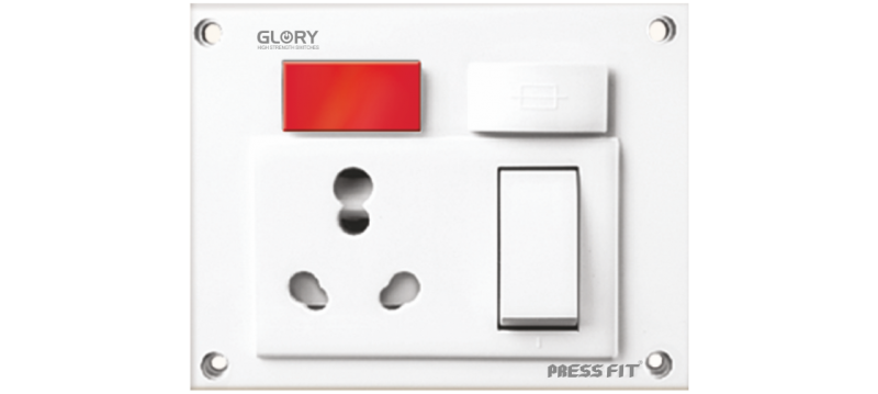 Glory Switch Socket Combined