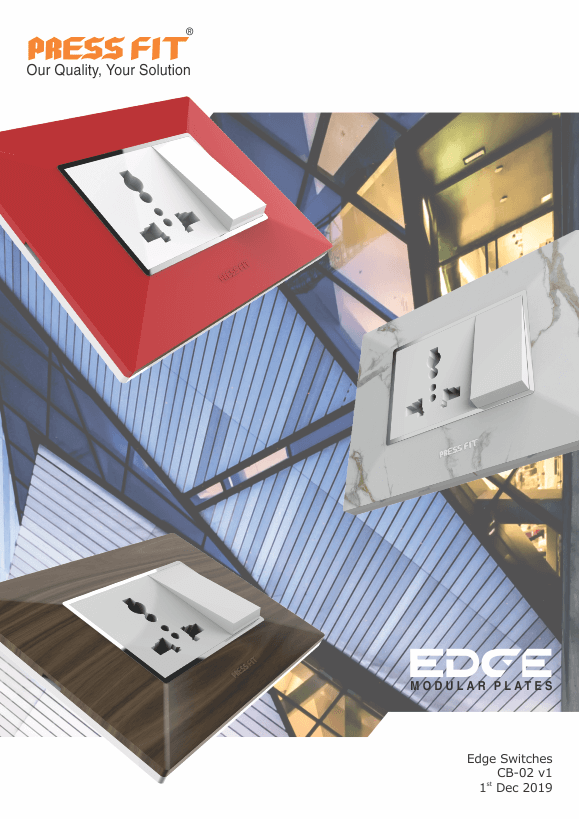 Edge Modular Switches Pricelist Cover