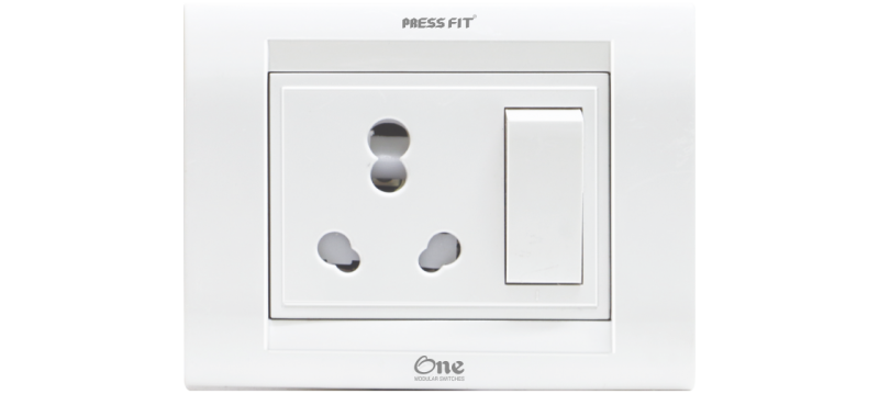 One Switch Socket Combined