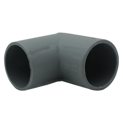 pressteak conduit fittings grey elbow